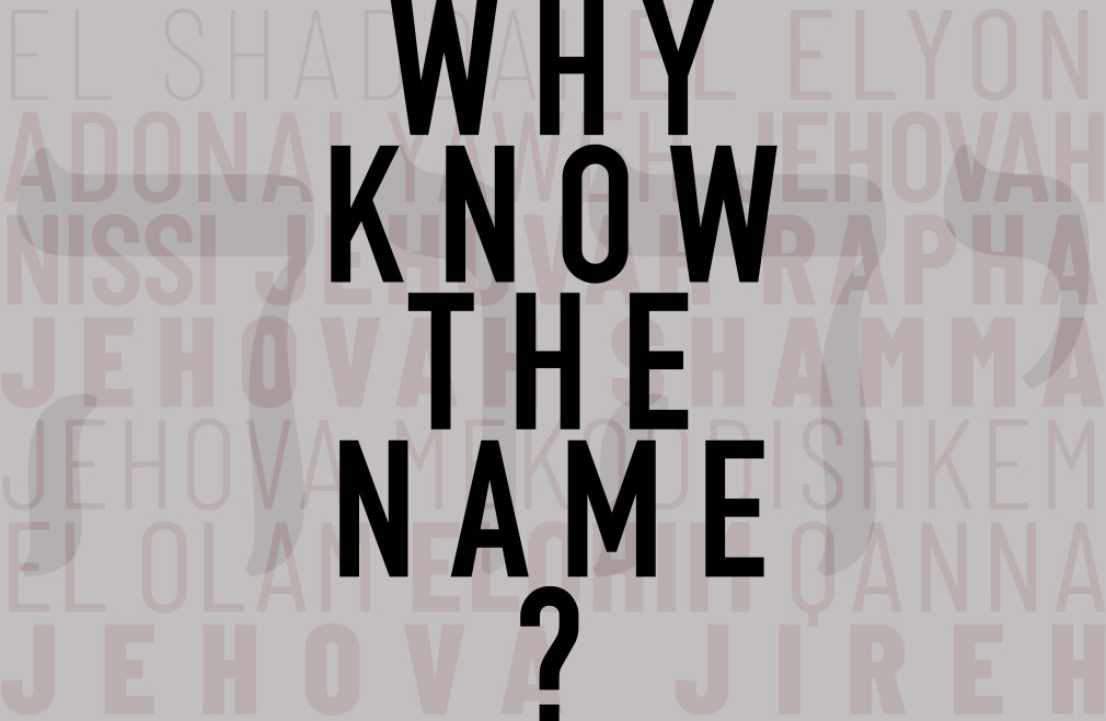 Why Know the Name?